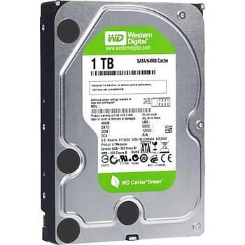 Western Digital 1TB Green Intellipower 64Mb Sata 3