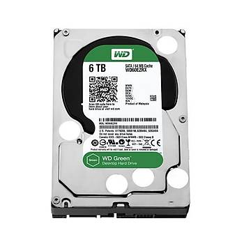 Western Digital 6TB Green IntelliPower 64MB Sata 3 WD60EZRX
