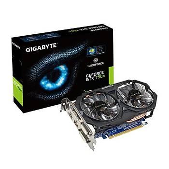 Gigabyte GTX750Ti OC 2GB 128Bit GDDR5 16X