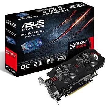 Asus R7260X-OC 2GB 128Bit GDDR5 16X