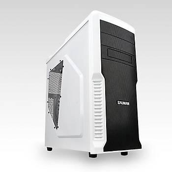 Zalman Z3 Plus Mid Tower Beyaz Kasa