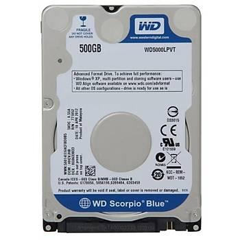 Western Digital 2.5 500GB 5400Rpm 8Mb Sata