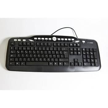 T-Max KB2609 Kablolu Multimedya Klavye USB
