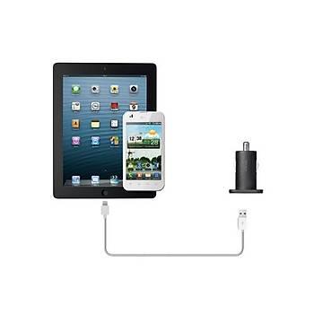 Trust 12W iPad-iPhone Araç Þarjý 19165