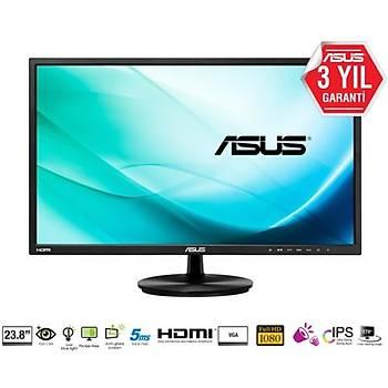 Asus 23.8 VN248HA Led MM HDMI Monitör Siyah 5ms