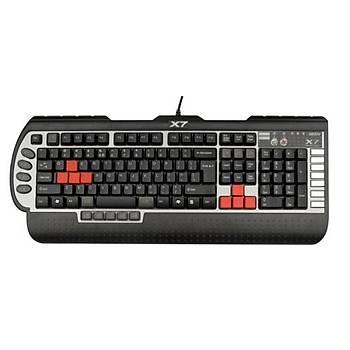 A4 Tech X7-G800V Gamer Klavye USB Siyah