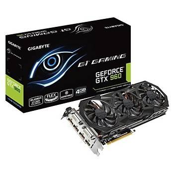 Gigabyte GTX960 Gaming G1 4GB 128Bit GDDR5 16X