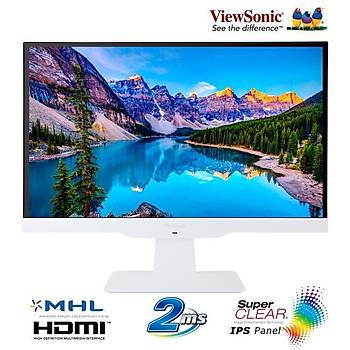 Viewsonic 23 VX2363SMHL-W IPS Full HD HDMI 2ms Led Monitör