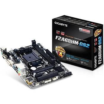 Gigabyte F2A68HM-DS2 DDR3 2133MHz VGA FM2+