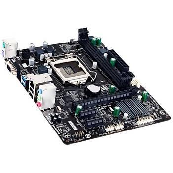 Gigabyte H81M-S1 /DDR3 1600MHz VGA 1150p Anakart