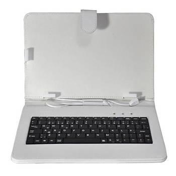 Hiper TK-109 Universal Klavyeli Kýlýf 9 Beyaz