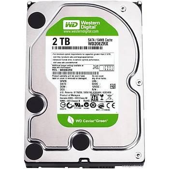 Western Digital 2TB Green Intellipower 64Mb Sata 3