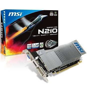 MSI N210-MD1GD3H/LP 1GB 64Bit GDDR3 16X