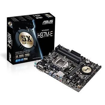 Asus H97M-E/DDR3 1600MHz VGA 1150p