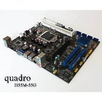 Quadro H55M-55G/DDR3 1666MHz VGA 1156p