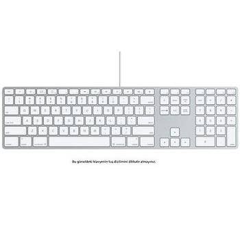 Apple MB110TQ/B Türkçe Q Kablolu Klavye