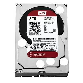 Western Digital 3TB Red Pro 7200 rpm 64MB Sata 3 WD3001FFSX
