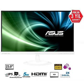 Asus VX239H-W 23 IPS Led 5ms Hdmý Monitör