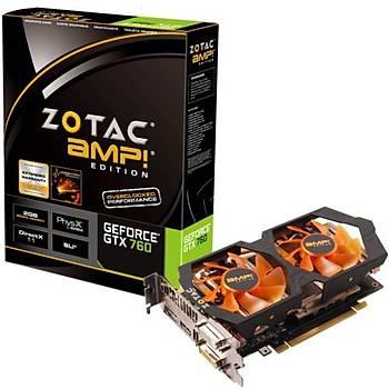 Zotac GTX760 AMP! 2GB 256Bit GDDR5 16X