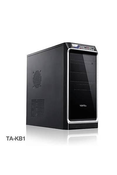Vento TA-KB1 700W ATX Kasa Siyah Gümüþ