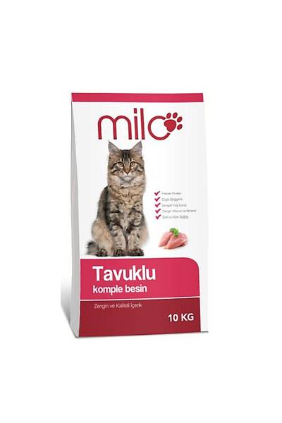 Milo Tavuk Etli Kedi Mamasý 10 kg