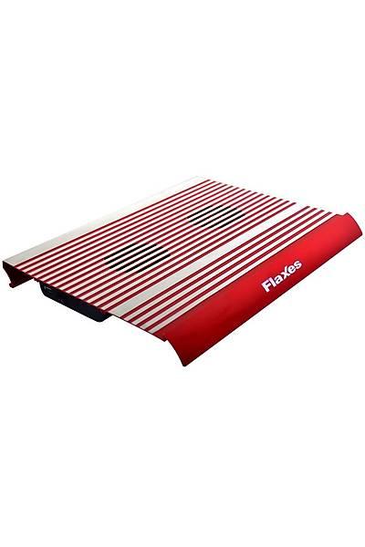 Flaxes FN-3333K Alüminyum Çift Fanlý Notebook Soðutucu