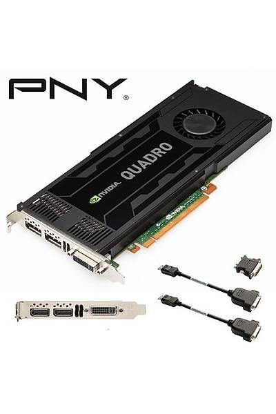 PNY Quadro K4000 3GB 192Bit DDR5 16X