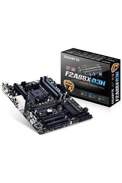 Gigabyte F2A88X-D3H DDR3 2133MHz VGA FM2 Anakart