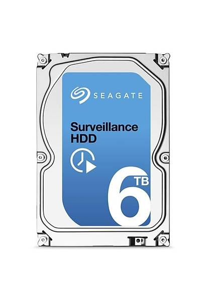 Seagate 6TB Surveillence 5900 rpm 128MB ST6000VX001