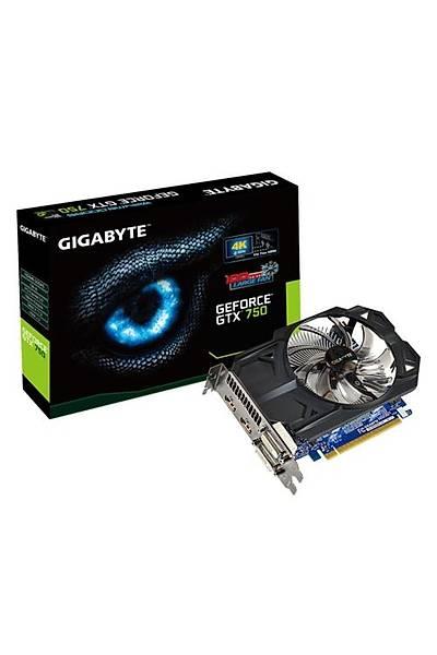 Gigabyte GTX750 OC 1GB 128Bit GDDR5 16X