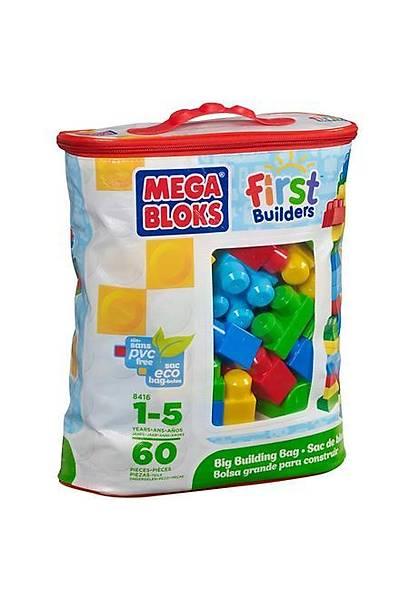 Mega Bloks Çantalý Renkli Bloklar 60 Parça 8415