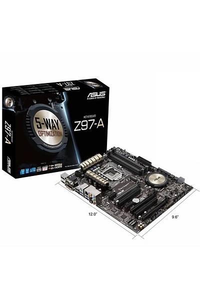 Asus Z97-A/DDR3 1600MHz VGA 1150p Anakart