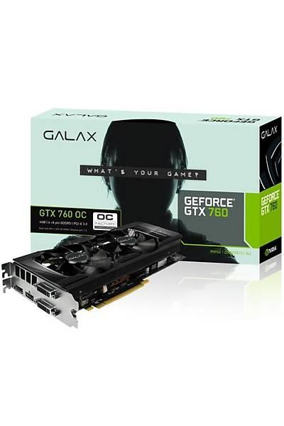 GALAXY GTX760 OC 4GB 256Bit GDDR5 16X