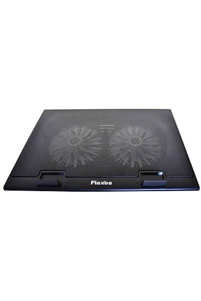 Flaxes FN-3255 Mavi Led Iþýklý Notebook Soðutucu