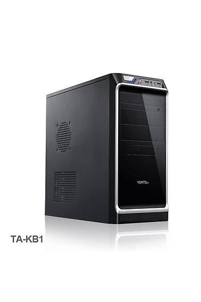 Vento TA-KB1 350W ATX Siyah Gümüþ Kasa