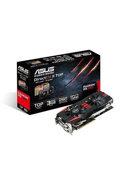 Asus R9280-DC2T 3 GB 384Bit GDDR5 16X