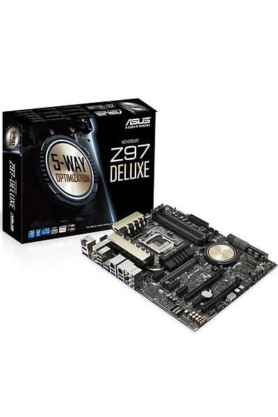 ASUS Z97-DELUXE DDR3 1600MHZ VGA 1150p