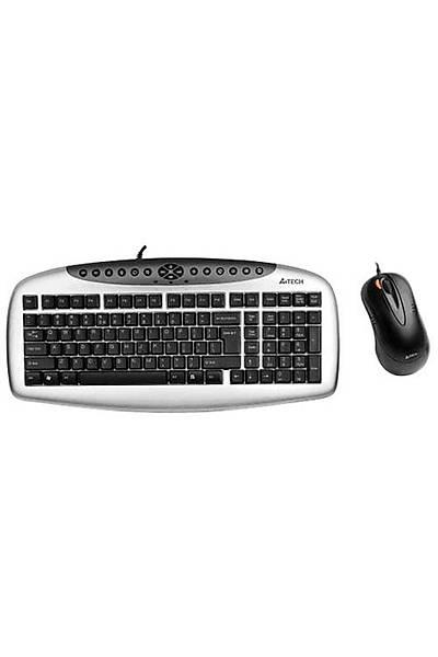 A4 Tech KB-2150D Kablolu Klavye Mouse