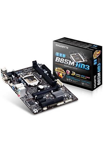 Gigabyte B85M-HD3/DDR3 1600MHz VGA 16X 1150p Anakart