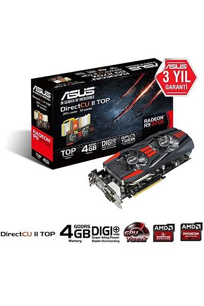 Asus VGA R9270X-DC2T 4GB 256Bit GDDR5 16X