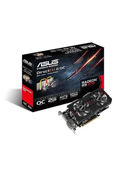 Asus R9270-DC2OC 2GB 256Bit GDDR5 16X