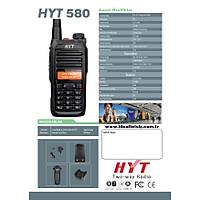 HYT TC580 ANALOG TELSİZ