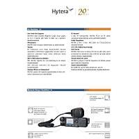 HYTERA MD785 DÝJÝTAL ARAÇ / SABÝT TELSÝZ