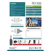 HYTERA PD505LF DÝJÝTAL PMR TELSÝZ