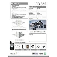 PD 365 LF DİJİTAL TELSİZ