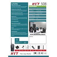 HYT TC508 ANALOG TELSÝZ
