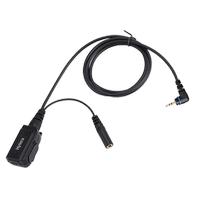 ACS-01 PTT düðmeli ve kulaklýksýz mikrofonlu baz seti