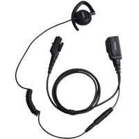 EHN17 PTT düðmeli kulaklýk, mikrofon ve kulaklýklý kulaklýk