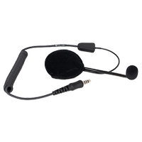 POA104-Ex, dudak mikrofonlu ATEX kask kulaklýk (mono)