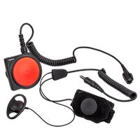 PTT düðmesi dahil ELN08 boðaz mikrofonlu kulaklýk
